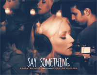 Say Something-A Great Big World Christina AguileraPiano sheet music