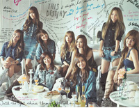 Divine Girls Generation-Girls GenerationPiano sheet music