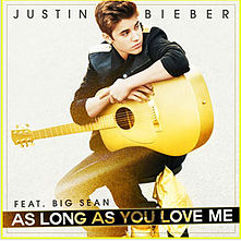 As Long As You Love Me-Justin BieberPiano sheet music