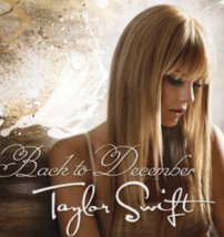 Back to December-Taylor SwiftPiano sheet music