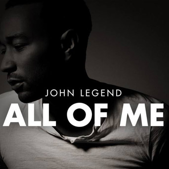 All Of Me John Legend-John LegendPiano sheet music